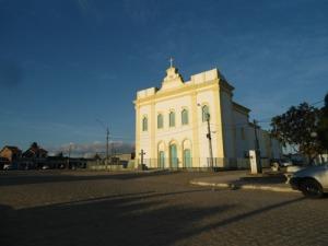 Magestosa igreja de Agua Fria